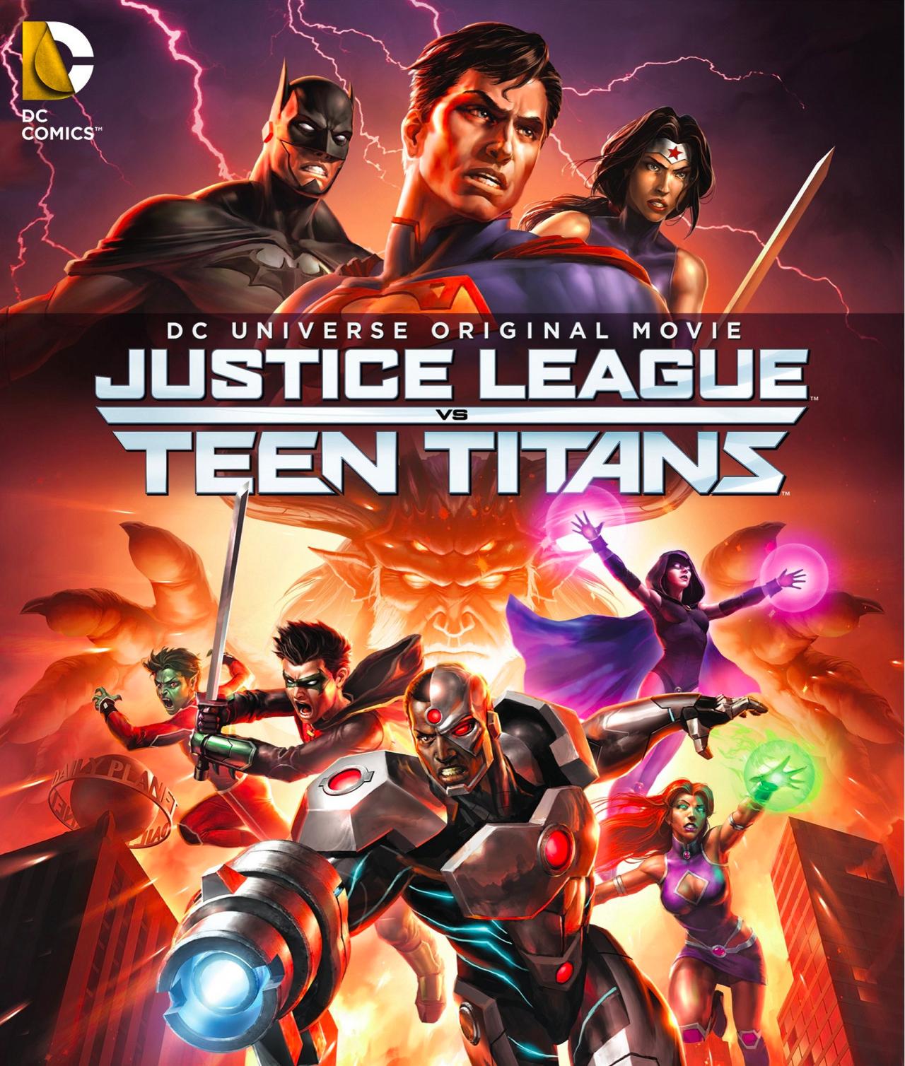 Justice League vs. Teen Titans (2016)