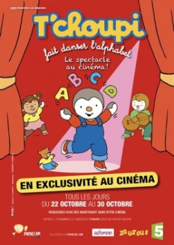 T'Choupi fait danser l'alphabet (Pathé Live) (2016)