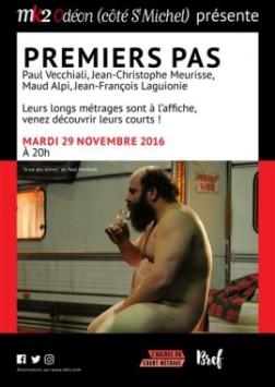 """Soirée """"Premiers Pas"""" (2016)"""