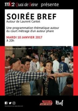 """Soirée Bref autour de """"Jeux de plage"""" de Laurent Cantet (2016)"""