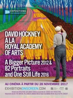 David Hockney à la Royal Academy of Arts : A Bigger Picture 2012 & 82 Portraits and One Still Life 2016 (2017)